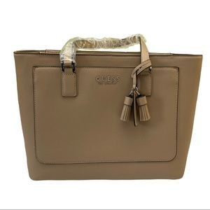 Guess Thornhill Double Handle Tote Bag in Carmel